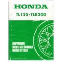 HONDA TL 125. TLR 200 (Manuel atelier)