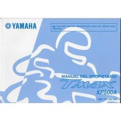 YAMAHA Tmax XP 500 A de 2012 type 59C (11 / 2011) italien