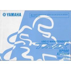 YAMAHA Tmax XP 500 A et XP 500 A de 2013 type 59C (07 / 12) italien