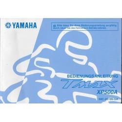 YAMAHA Tmax XP 500 / XP 500 A de 2012 type 59C (11 / 11) allemand