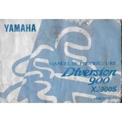 YAMAHA XJS 900 Diversion de 1996 type 4KM (06 / 1996)