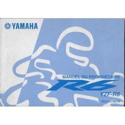 YAMAHA YZF-R6 de 2006 type 5YU (09 / 2005)
