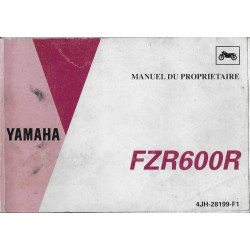 YAMAHA FZR 600 R de 1995 type 4JH (10 / 1994)
