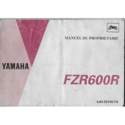 YAMAHA FZR 600 R de 1994 type 4JH (11 / 1993)
