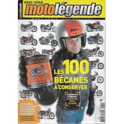Moto Légende hors série 100 bécanes à conserver