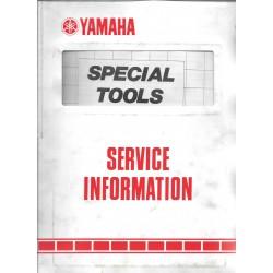 Manuel d'atelier spécial outillage Yamaha 1989