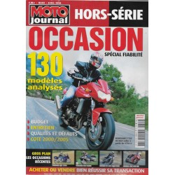MOTO JOURNAL Hors Série occasions 2006
