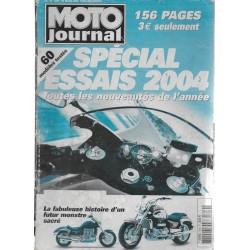 Moto Journal hors-série Spécial essais 2004
