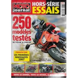 Moto Journal hors-série Spécial essais 2006