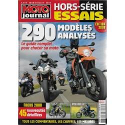 Moto Journal hors-série Spécial essais 2008