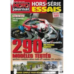 Moto Journal hors-série Spécial essais 2009