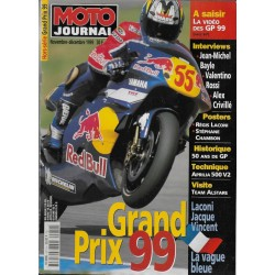 Moto Journal spécial Grand Prix 1999