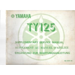 YAMAHA TY 125 1K6