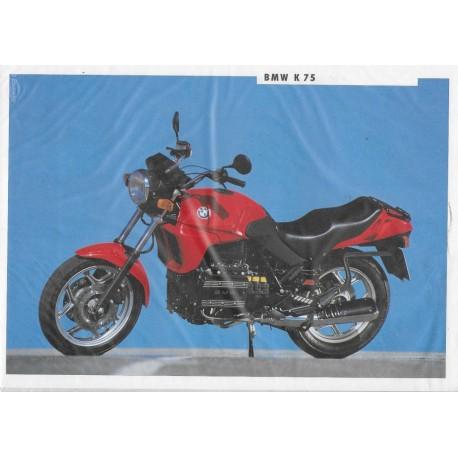 BMW K 75 (Prospectus 1991)