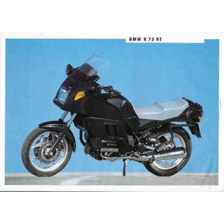 BMW K 75 RT (Prospectus 1991)