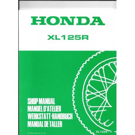 HONDA XL 125 R
