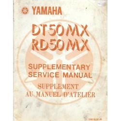 YAMAHA DT / RD 50 MX 5N6
