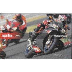 APRILIA Catalogue original Gamme 2004