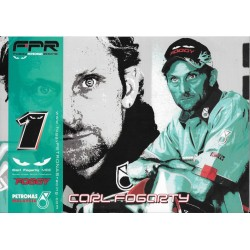 Foggy Petronas Racing (FPR) Carl FOGARTY (publicité)