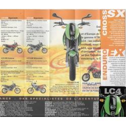 KTM (mini catalogue de la gamme moto de 2002)