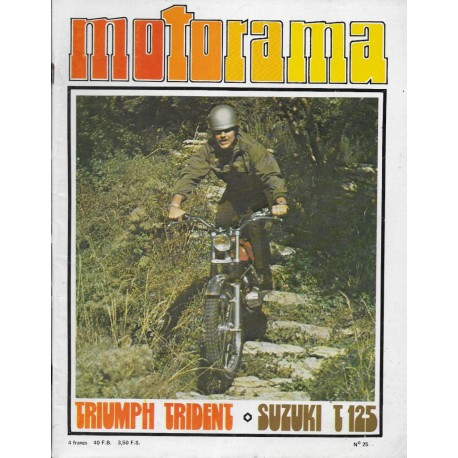 MOTORAMA n° 25 (01 / 1973)