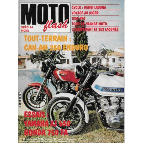 MOTO FLASH n° 35 (décembre 1980 - janvier 1981)