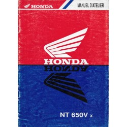 HONDA NT 650 Vx Deauville (manuel atelier additif)
