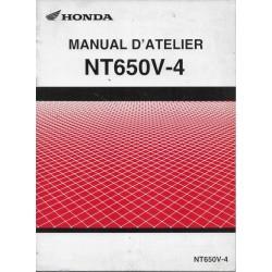 HONDA NT 650 V4 Deauville de 2004 (manuel atelier additif)