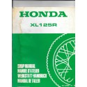 HONDA XL 125 R Supplément important
