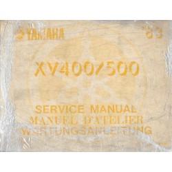 YAMAHA XV 500