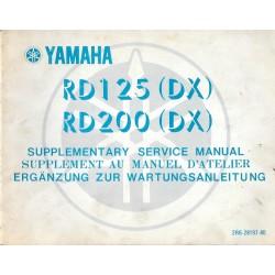 YAMAHA RD 125 / 200 DX