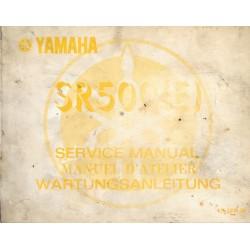 YAMAHA SR 500 type 2J4