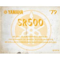 YAMAHA SR 500 type 3H0
