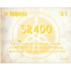 YAMAHA SR 400 type 4G4