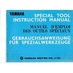 YAMAHA outils spéciaux 1974
