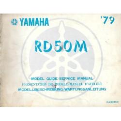 YAMAHA rd 50 m 1979
