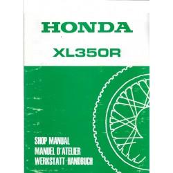 HONDA XL 350 R (manuel atelier)
