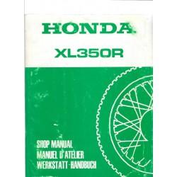 HONDA XL 350 R Manuel de base février 1984