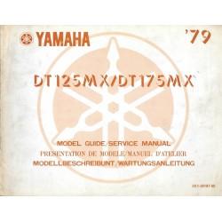 YAMAHA DT 125 MX 2X1 1979