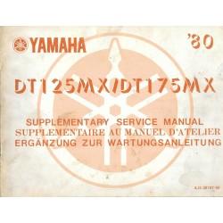 YAMAHA DT 125 MX 1980