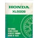 HONDA XL 500 S Manuel de base