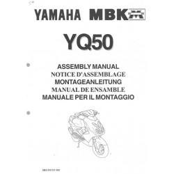 YAMAHA YQ 50 1997 assemblage