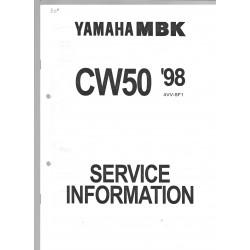 YAMAHA CW 50 1998