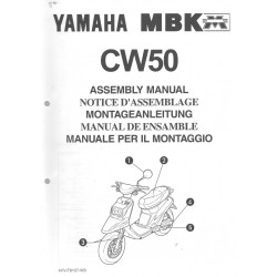 YAMAHA CW 50 1998 assemblage