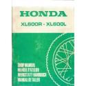 HONDA XL 600 R. XL 600 L. (Manuel de base)