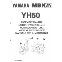 YAMAHA YH 50 1998 assemblage