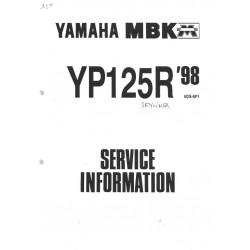 YAMAHA YP 125 R 1998