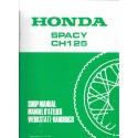 HONDA SPACY CH 125 (Supplément au manuel atelier modèle 1985)