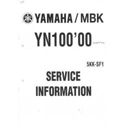 YAMAHA YN 100 2000