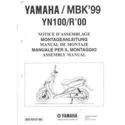 YAMAHA YN 100 / R 2000 assemblage